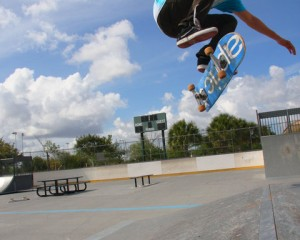Backside Flip – Alex Castro